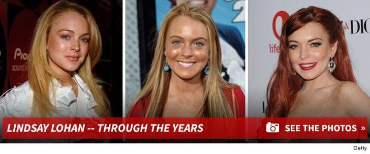 Lindsay Lohan -- Through the Years!