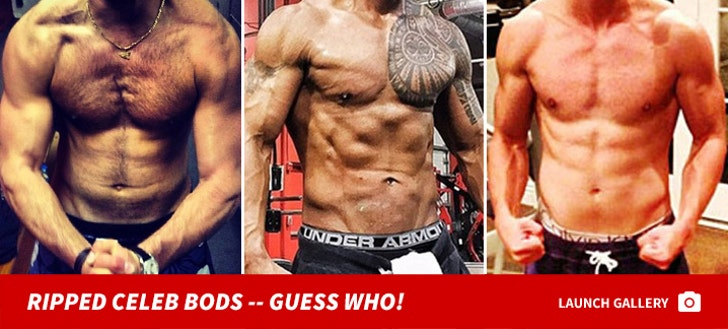 Instagram's Best Man-Muscles -- Guess Who!