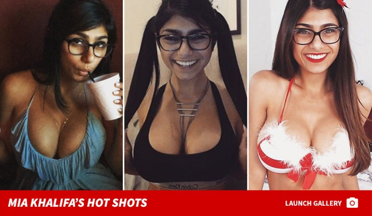 Mia Khalifa's Hot Shots