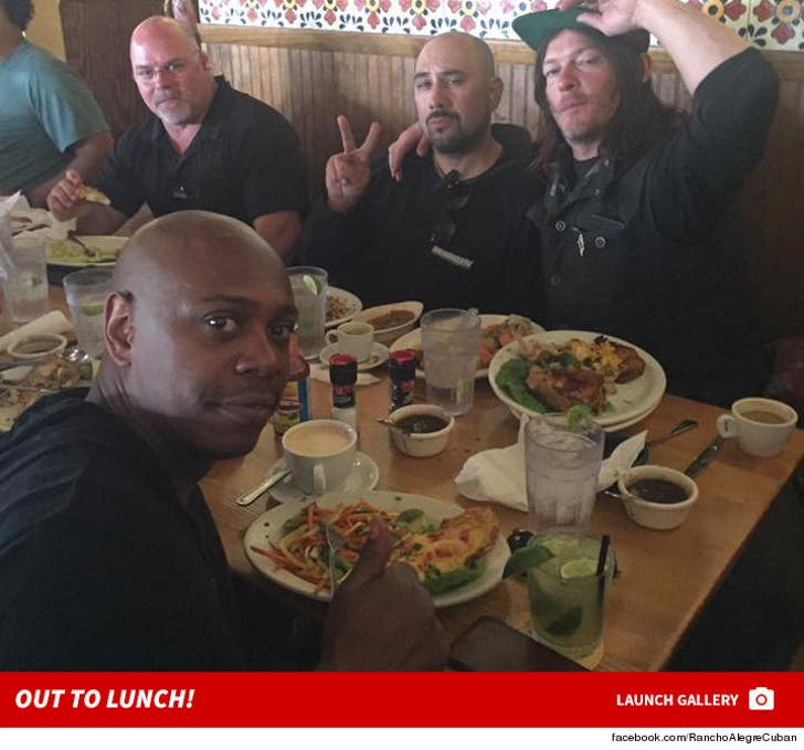 Dave Chapelle and Norman Reedus -- Out to Lunch
