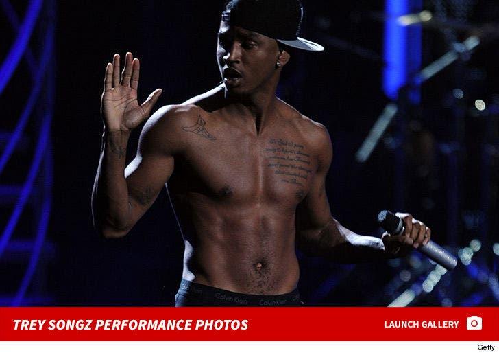 Trey Songz Performance Photos