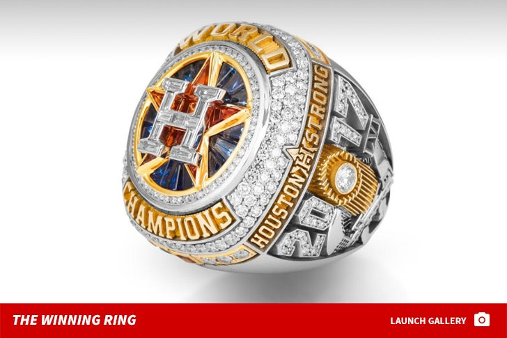 Houston Astros' World Champions Ring