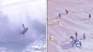 Pro Surfer Alex Botelho Rushed To Hospital After Horrific Crash, Insane Video