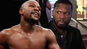 Floyd Mayweather to 50 Cent, I'll Beat Your Ass Too!