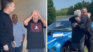 Robert Kraft Gets Surprise Bentley from Jay-Z, Meek Mill and Michael Rubin