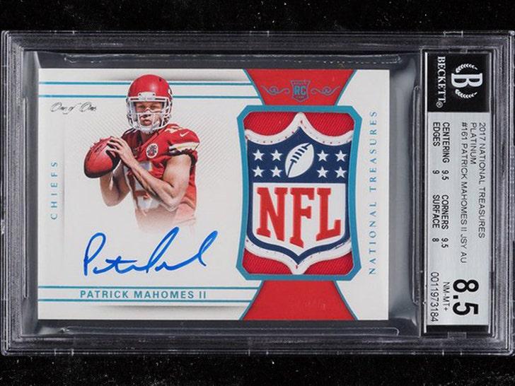 patrick mahomes rookie card