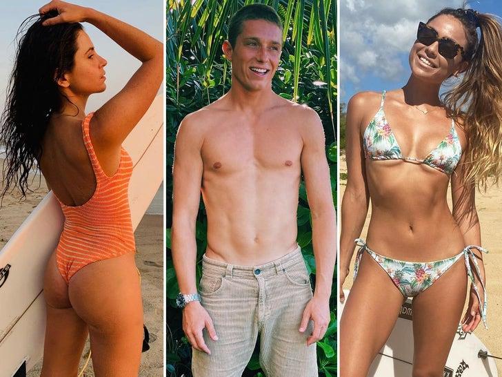 'The Ultimate Surfer' Cast Hot Shots