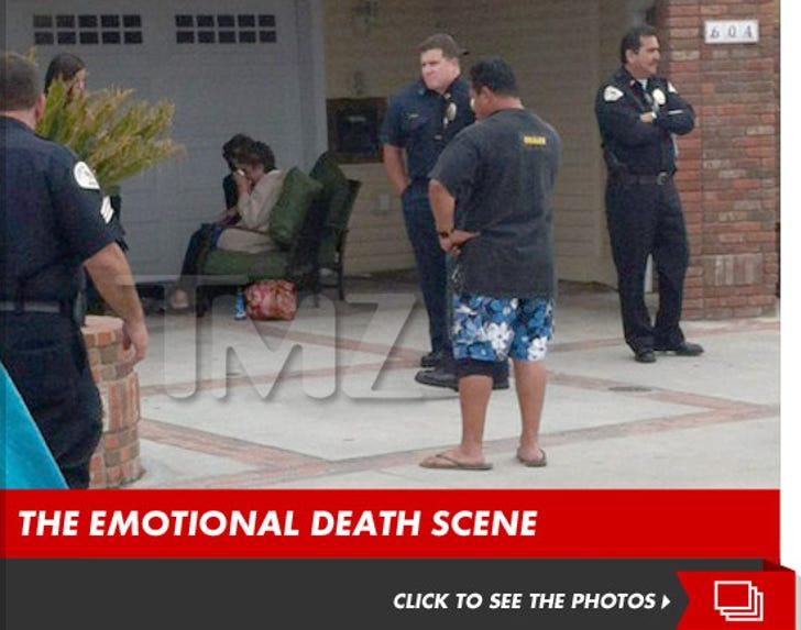 Junior Seau -- The Emotional Death Scene