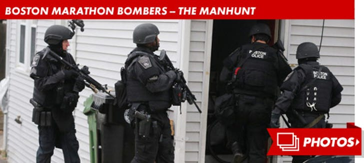 Boston Marathon Bomber -- The Manhunt