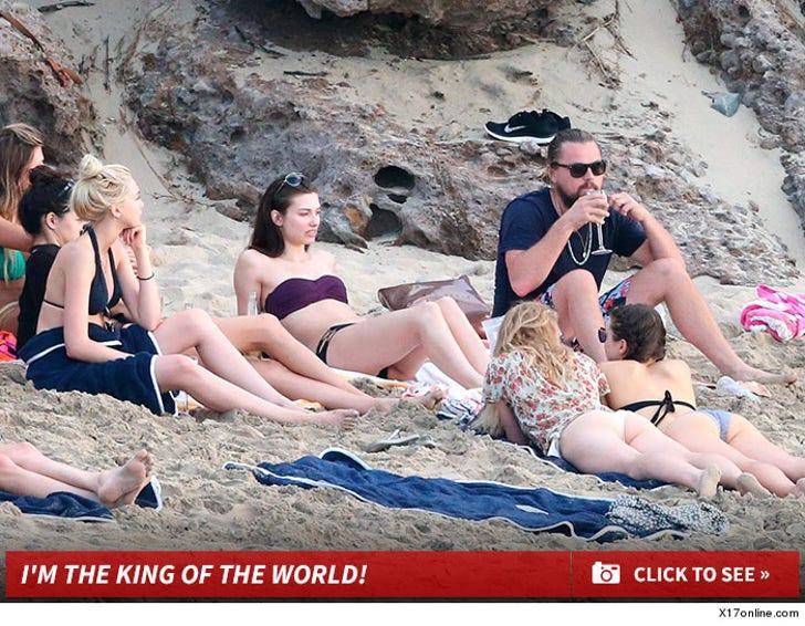 Leonardo DiCaprio's New Year Beach Party