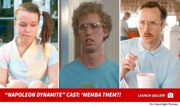 """Napoleon Dynamite"" Cast: 'Memba Them!?"