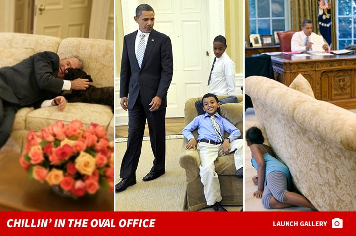 Chillin' in the Oval Office