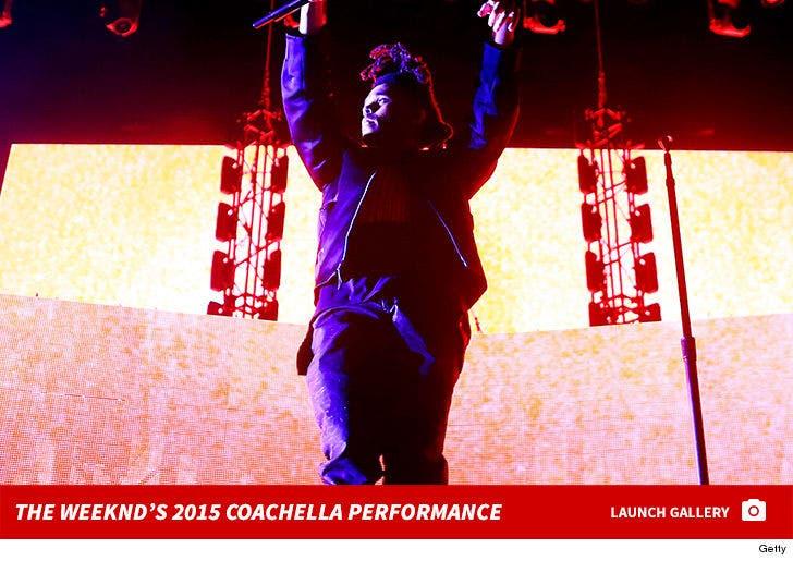 The Weeknd's 2015 Coachella Performance