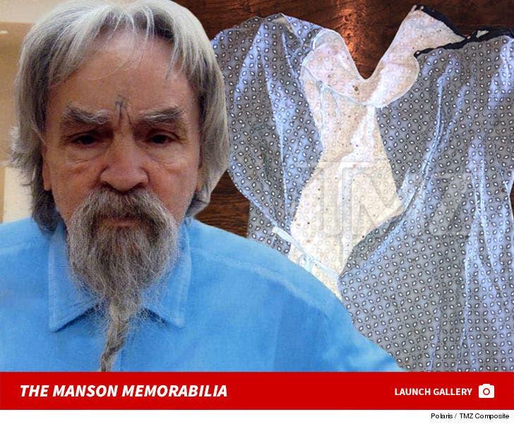 Charles Manson Memorabilia