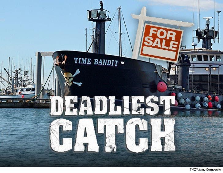 Deadliest Catch' Vessel Time Bandit for Sale at $2 88 Mil