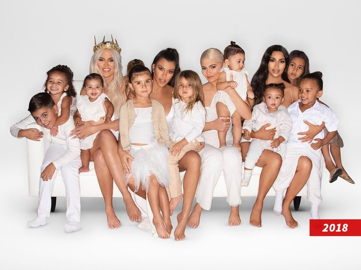 Kardashian Christmas Card 2020 Kim Kardashian and Kanye West Release Christmas Card, Psalm's Debut