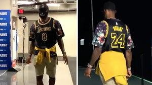 LeBron James Rocks Kobe Bryant Tribute Jersey To Lakers Playoff Game