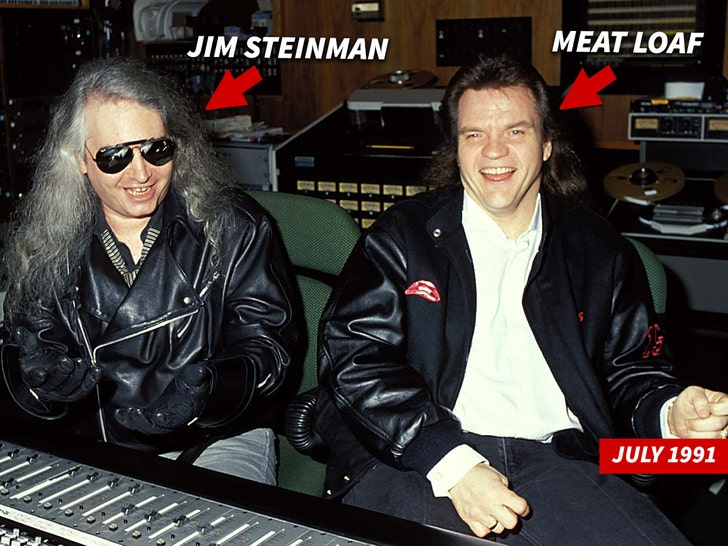 Jim Steinman and Meat Loaf Together