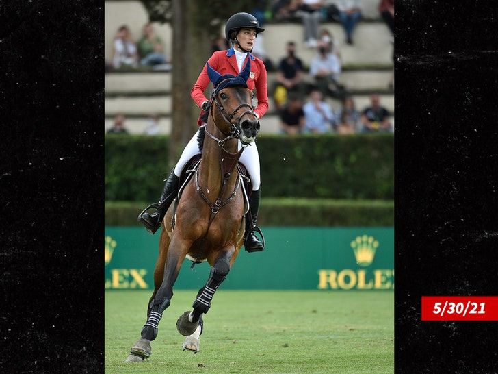 Jessica Springsteen makes Olympics debut