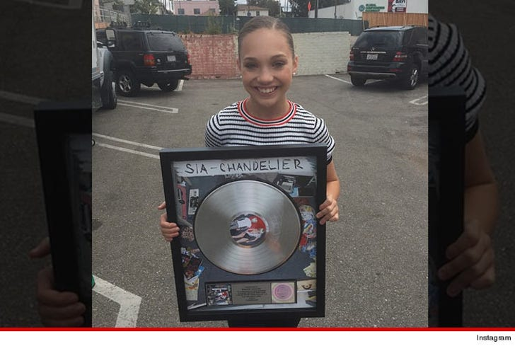 Maddie Ziegler -- We're Movin' On Up Thanks To My Fancy Footwork