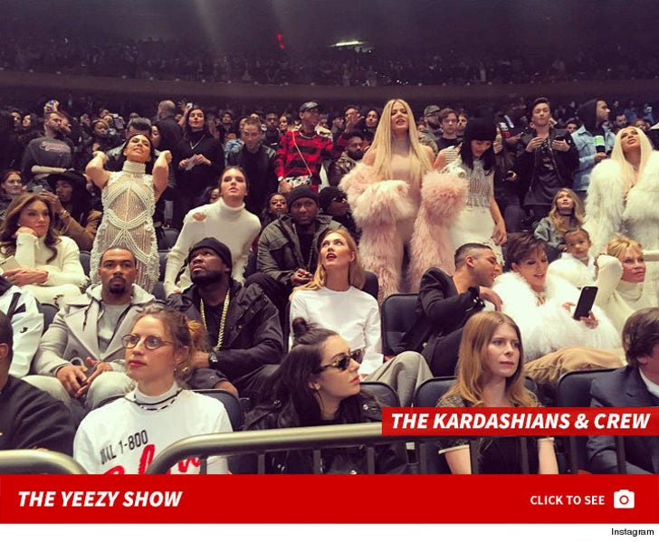 Kanye West -- Yeezy Season 3 and Album Premiere
