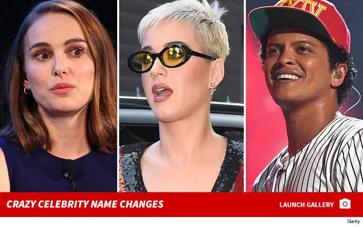 Crazy Celebrity Name Changes