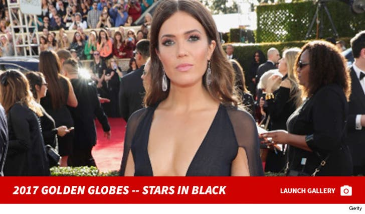 Golden Globes 2017 -- Stars in Black