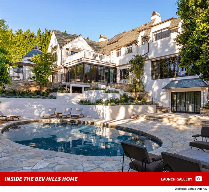 Adam Levine -- Beverly Hills Home