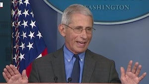 Dr. Fauci Sets Record Straight on Perceived Bad Blood with Trump
