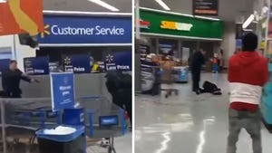 Man Shot and Killed for Swinging Bat at Cops in California Walmart