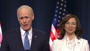 'SNL' Spoofs Presidential Election with Biden, Harris and Trump