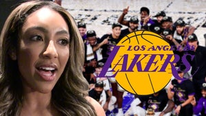 'Bachelorette' Tayshia Adams Says A Laker Slid Into Her DMs, Wish It Was LeBron!