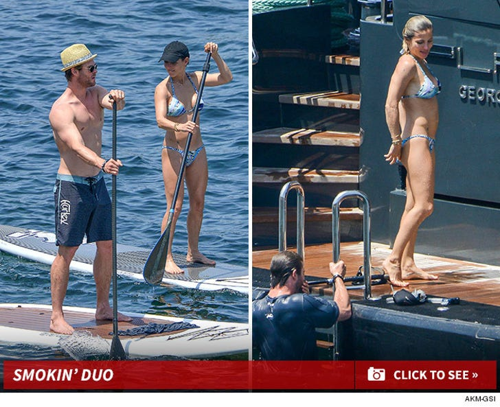 Chris Hemsworth and Elsa Pataky Hottest Couple