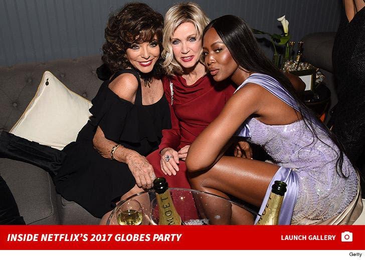 Inside the 2017 Netflix's Golden Globes Party