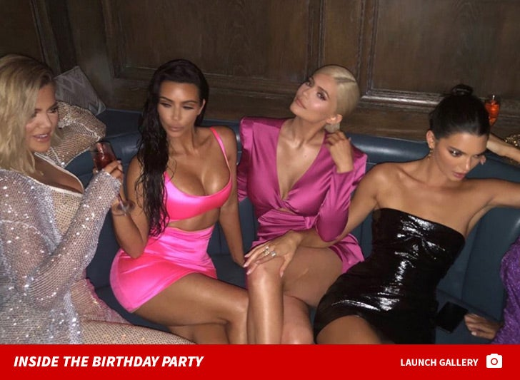 Inside Kylie Jenner's 21st Birthday Party