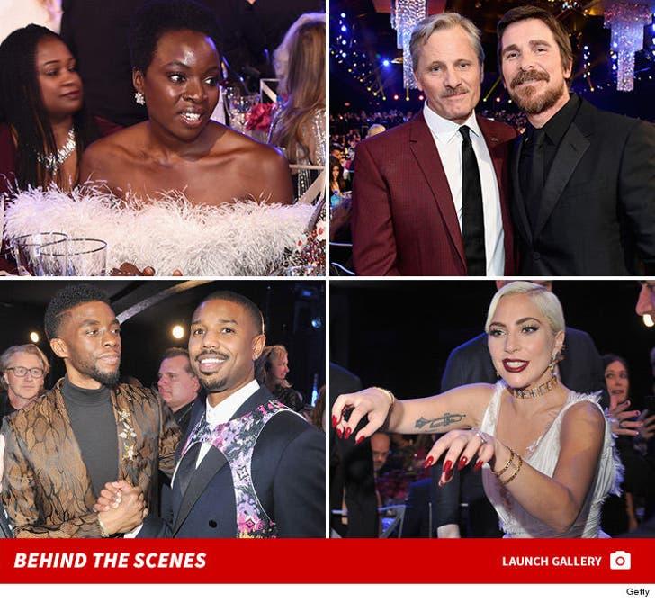 2019 SAG Awards -- Behind The Scenes