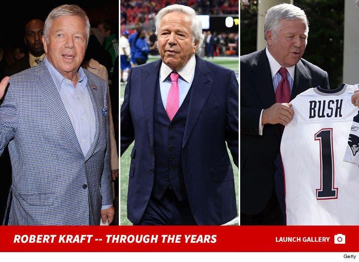 Robert Kraft -- Through The Years