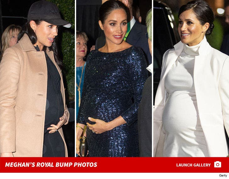 Meghan Markle's Royal Bump