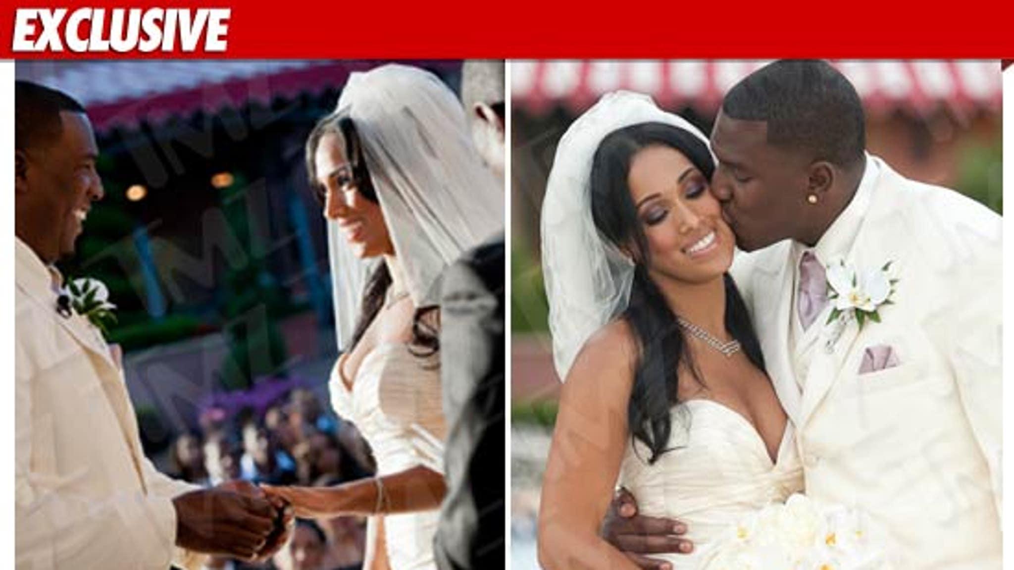 NFL Superstar Antonio Gates -- The WEDDING PICS