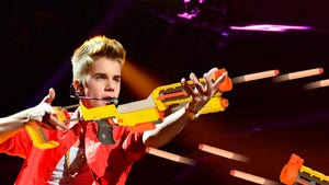 Justin Bieber -- Investigated for Assault ... With a Nerf Gun