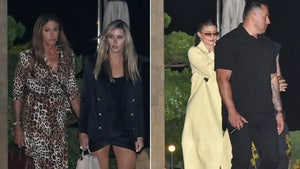 Kylie and Caitlyn Jenner Meet Up for Stylish Dinner Date in Malibu
