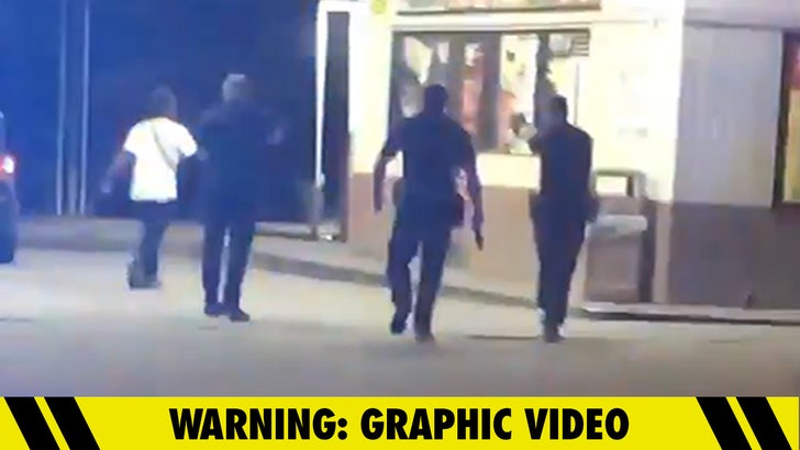 Police Shoot and Kill Black Man As He Walks Away From Them