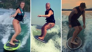 Wakesurfing Celebs -- Ride The Wave!