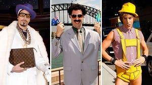Sacha Baron Cohen's Crazy Characters