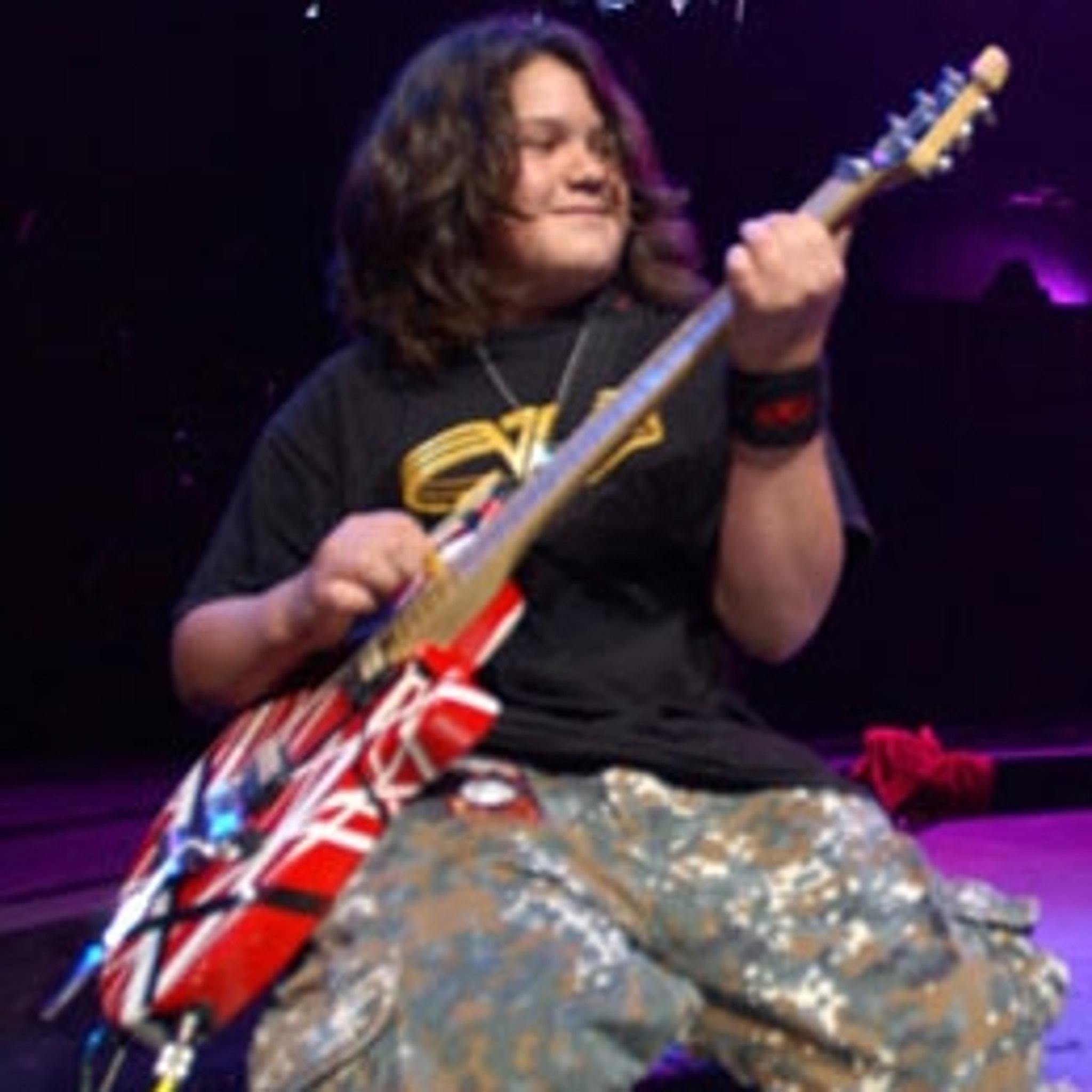 Van Halen S New Bassist Eddie S Boy Wonder