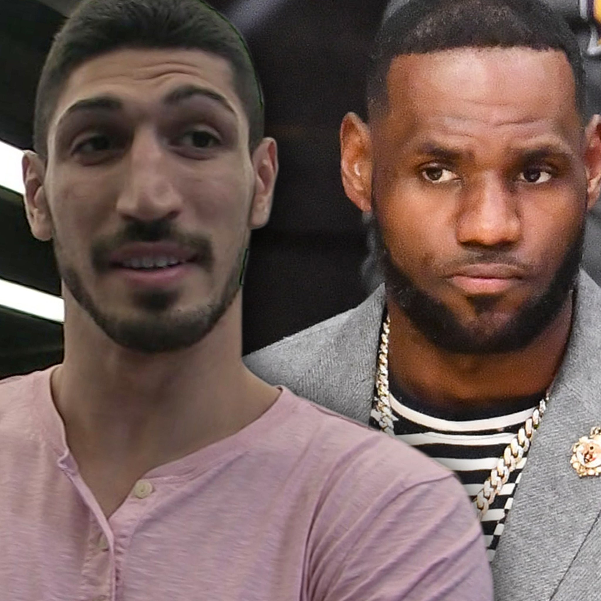 NBA's Enes Kanter Goes After LeBron James Over China Comments