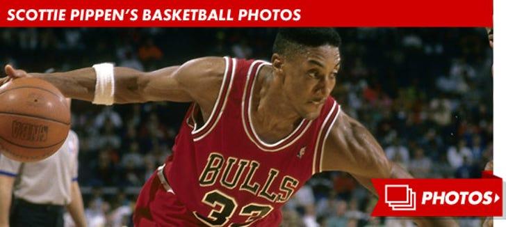 Scottie Pippen's Basketball Photos