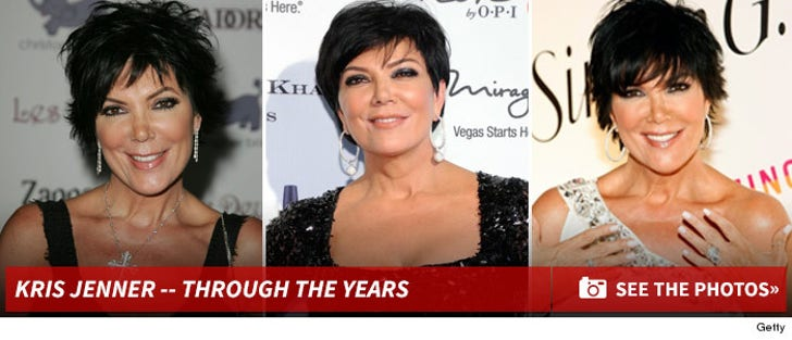 Kris Jenner -- Through The Years