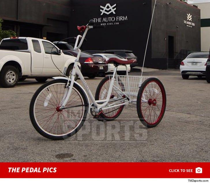 Yoenis Cespedes' Baller Bike