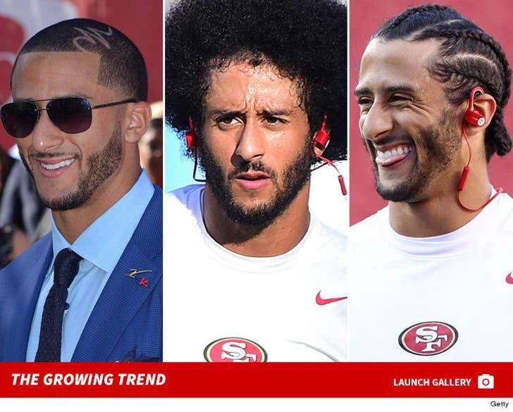 Colin Kaepernick's Hair -- The Growing Trend
